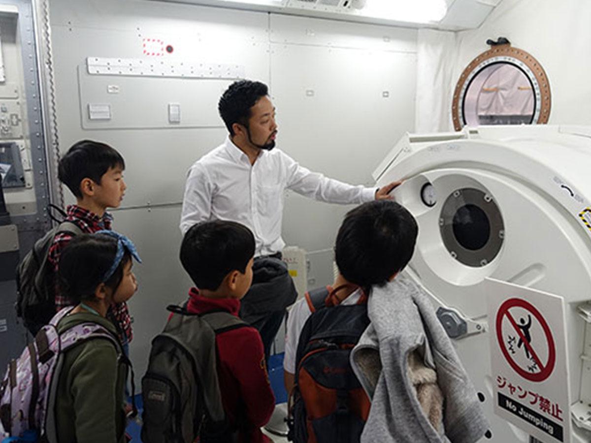 宇宙飛行士に学ぶ最先端技術